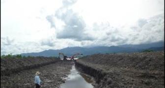 Mitigación de riesgo río Guatiquía